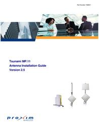 Proxim Tsunami MP.11 User Manual