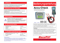 Secoruet Car battery tester 24 V 10870 USB port SecoRüt 10870 User Manual