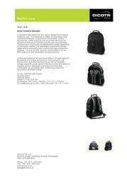 Dicota BacPac Jump N4018N Leaflet
