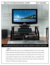 Bell'O AVS-4601HG Leaflet