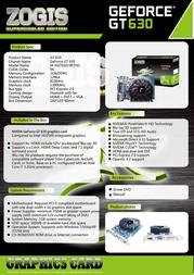 Zogis ZOGT630-1GD3H Leaflet