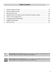 Smeg SE2320ID1 User Manual
