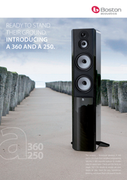 Boston Acoustics A 250 BAA250BK Leaflet