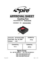 Spire Orion 40x15 OEM04010S1M3-CB User Manual