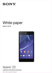 TIM Sony Xperia Z2 D6503 767390 User Manual