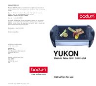 Bodum 3010-USA User Manual