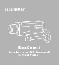 SecurityMan boxcam-i User Guide