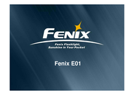 Fenix E01 Data Sheet