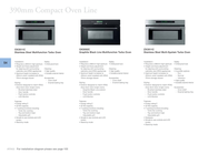 ATAG Plate warmer WD2111C User Manual