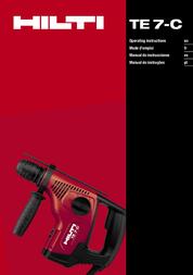 Hilti TE 7-C User Manual