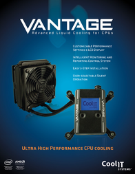 CoolIT Vantage VANTAGE Leaflet