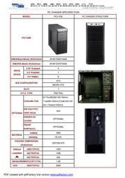 Supercase PCV-530 Leaflet