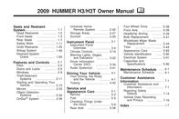 Hummer h3t User Manual