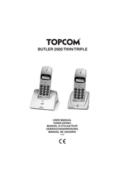 Topcom Butler 2900 User Manual