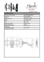 Highgrade A6041 HG-A6041 Leaflet
