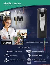 Ucorder IRDC250 Leaflet