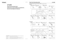 Mazda CD Player LP-U200 Leaflet