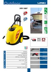 Lavorwash XTR 1007 8.052.0814 Leaflet
