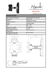 Highgrade AR120 HG-AR120 Leaflet