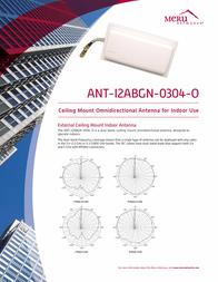 Meru ANT-I2ABGN-0304-O Leaflet