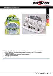 Ansmann Basic 5 Plus 5207303 Data Sheet