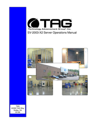 TAG SV-2003-X2 User Manual