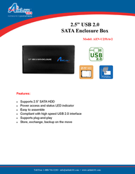 AirLink AEN-U25Sav2 AEN-U25SAV2 Leaflet