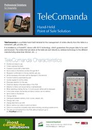 ICG TeleComanda BM-150R Leaflet