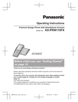 Panasonic KX-PRW110FX User Manual