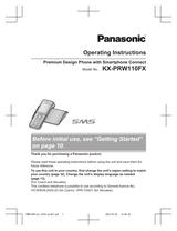 Panasonic KX-PRW110FX Справочник Пользователя