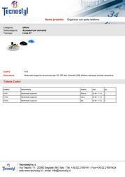 Tecnostyl AT3/6 Leaflet