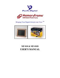 Pacific Digital MF-810 User Manual