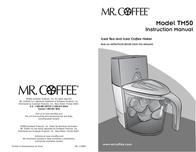 Mr. Coffee TP50 User Manual