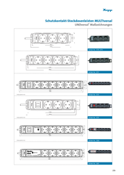 Kopp Socket strip (w/o switch) 4 x White PG connector 127102016 127102016 Information Guide