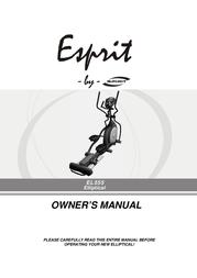 Esprit EL555 User Manual