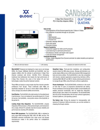 QLogic 64-bit, 133MHz PCI-X to 2 Gb Fibre Channel adapter single-port optic standard QLA2340-CK Leaflet