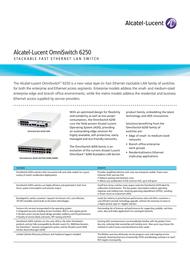 Alcatel OS6250M-CBL-30 User Manual