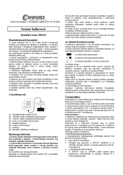 Pietsch SONAR FISH FINDER 8011C3 Data Sheet