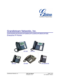 Grandstream Networks GXP1200 User Manual