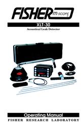 Fisher Power Screwdriver XLT-30 User Manual