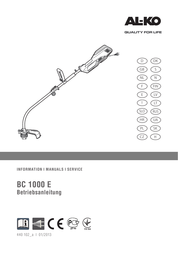 AL-KO BC 1000 E User Manual