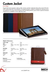 Skech Custom Jacket IPD-CJ-BR Leaflet