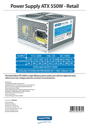 Hantol HPSU550 Leaflet