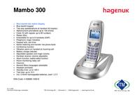 Hagenuk Mambo 300 MAMBO 300 Leaflet