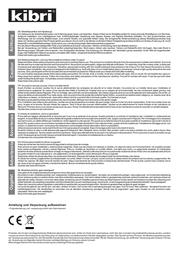 Kibri 47112 Data Sheet