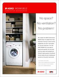 Asko WCAM1812 Brochure