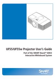 SMART Technologies UF55w User Manual