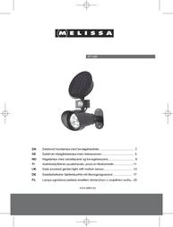 Melissa 677-002 User Manual