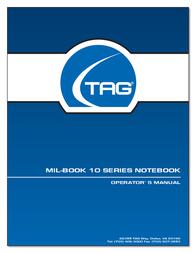 TAG MIL-BOOK 10 User Manual
