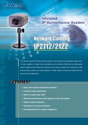 VIVOTEK IP2112 Leaflet